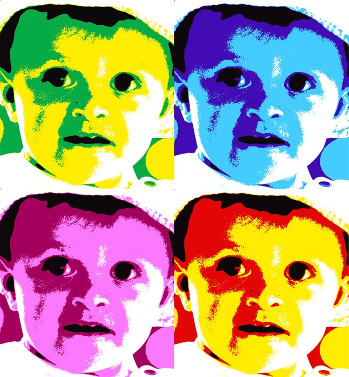 Ihr Foto Im Stil Von Andy Warhole Eine Knallbunte Geschenkidee